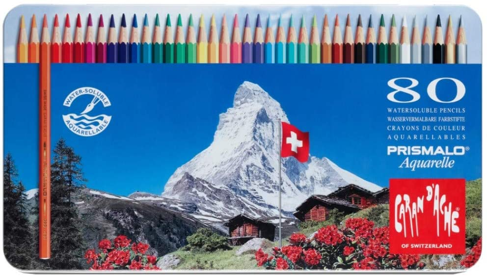 Caran D'ache Prismalo Aquarelle Watercolor Pencils