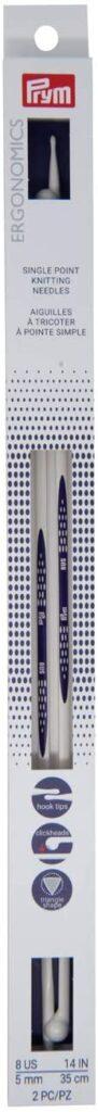 prym ergonomics knitting needle