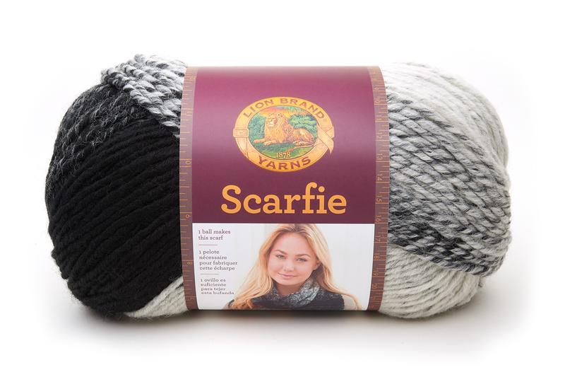 Lion Brand Scarfie Yarn