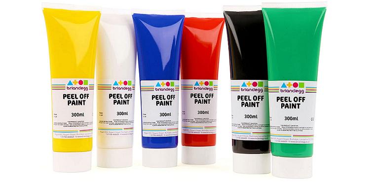 Brian Clegg Peel-Off Paint
