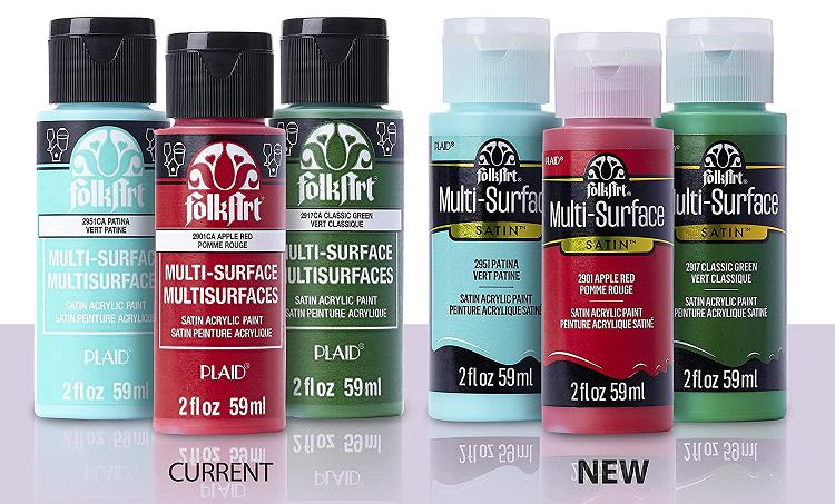 PLAID Multi-surface Craft Paints